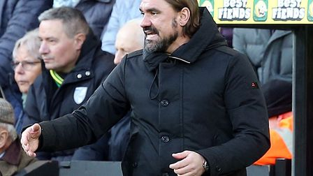 Daniel Farke is keen not to over-hype Norwich City's trip to Southampton Picture: Paul Chesterton/Fo