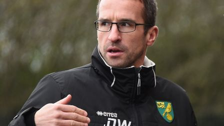 David Wright saw his young Norwich City side win their first game since August on Monday evening aga