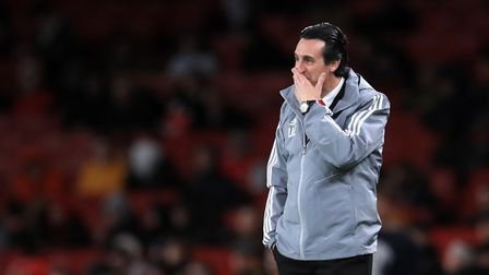 Arsenal boss Unai Emery has been sacked. Picture: Adam Davy/PA Wire