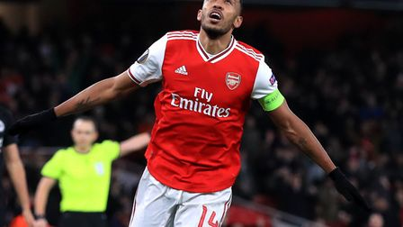 Pierre-Emerick Aubameyang is one of the top players Arsenal will bring to Carrow Road Picture: Adam
