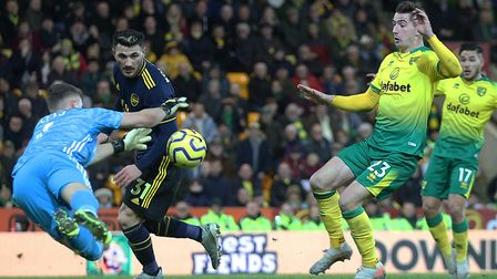 Kenny McLean has been a key figure in Norwich City's Premier League upturn Picture: Paul Chesterton/