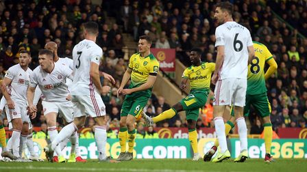 Alex Tettey fires Norwich City in front but that was as good as it got for the Canaries