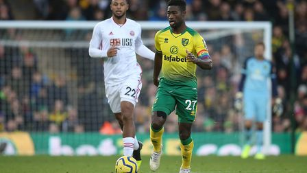 Alex Tettey returned to the starting XI after a positive performance at Southampton. Picture: Paul C