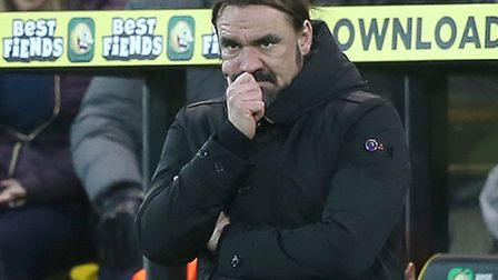 Daniel Farke had plenty to ponder during the Sheffield United defeat Picture: Paul Chesterton/Focus