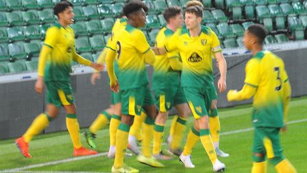 Action from Norwich City Under-18s' FA Youth Cup thirdround tie against Newcastle at Carrow Road - t