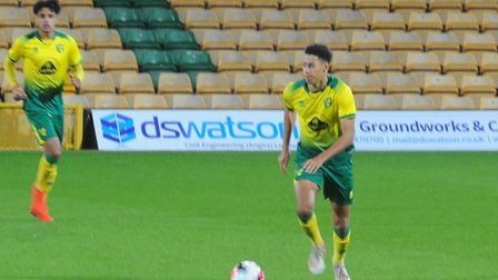 Action from Norwich City Under-18s' FA Youth Cup thirdround tie against Newcastle at Carrow Road - J