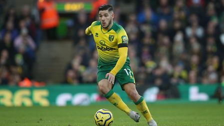 Emi Buendia was back in the starting line for Norwich City agaisnt Sheffield United Picture: Paul Ch
