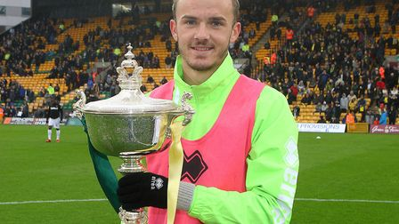 Former Norwich City player-of-the-year James Maddison faces his old club for the first time this wee
