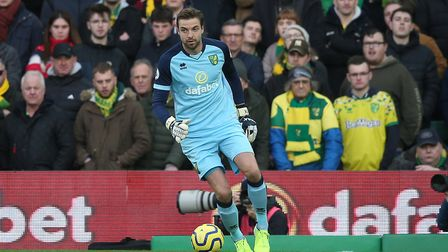 Tim Krul is savouring his second top-flight stint with Norwich City. Picture: Paul Chesterton/Focus