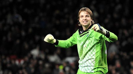 Tim Krul had an 11-year association with Newcastle United. Picture: Martin Ricketts/PA Wire
