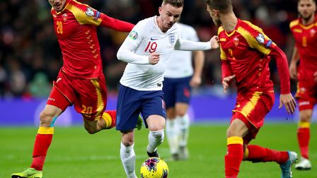Leicester playmaker James Maddison made his senior England debut during a Euro 2020 qualifier agains