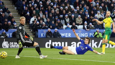 Norwich City striker Teemu Pukki notched his ninth Premier League goal of the season at Leicester Ci