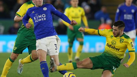 Norwich City were good with and without the ball at Leicester City in a 1-1 Premier League draw Pict