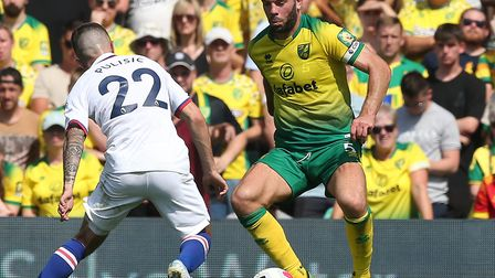 Grant Hanley is in the frame to replace Ben Godfrey Picture: Paul Chesterton/Focus Images Ltd