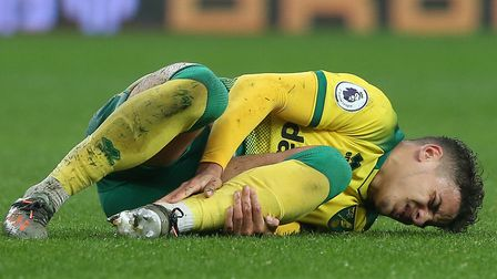 Max Aarons needed treatment during the first half of City's loss at Villa but completed the full 90