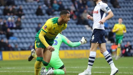 Adam Idah had an FA Cup debut to remember at Preston Picture: Michael Sedgwick/Focus Images Ltd