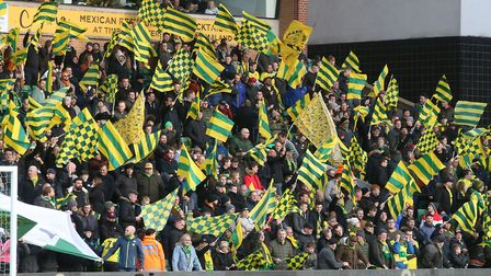 Along Come Norwich have played a major role in the colourful displays at Carrow Road since last seas