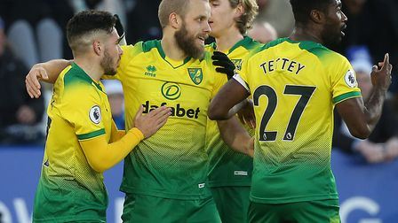 Teemu Pukki scored his ninth Premier League goal of the season during Norwich City's draw at Leicest