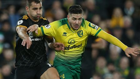 Norwich City attacker Emi Buendia will be vital at Villa Park after a superb display against Wolves