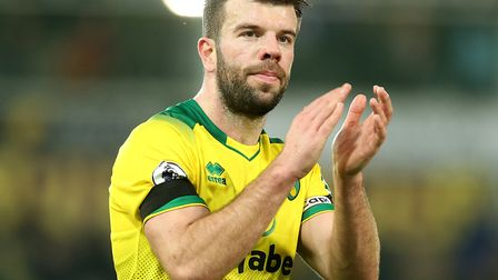 Norwich City skipper Grant Hanley has been in the thick of the action for since his return to fitnes