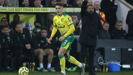 Norwich City have reportedly slapped a £45m price tag on young star Max Aarons Picture: Paul Chester