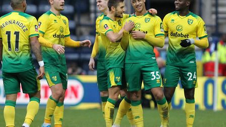 Norwich City sealed FA Cup progress with a 4-2 win at Preston Picture: Michael Sedgwick/Focus Images