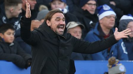 Daniel Farke insists Norwich City can compete with any side in the Premier League Picture: Paul Ches