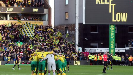Norwich City take on Wolves at Carrow Road this afternoon Picture: Paul Chesterton/Focus Images