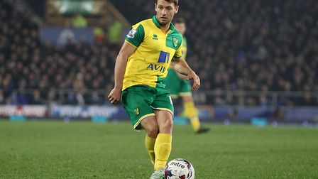 Norwich City legend Wes Hoolahan has been named in the EFL team of the decade. Picture: Paul Cheste