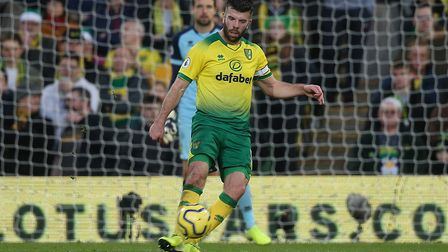 Grant Hanley refused to be too downbeat after City's 2-1 defeat against Wolves. Picture: Paul Cheste