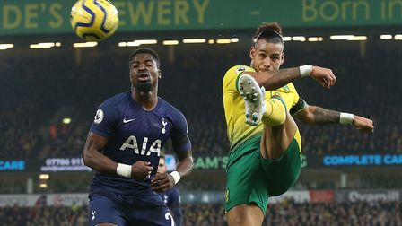 Onel Hernandez in action during the draw against Spurs - can City kick-start their season? Picture b