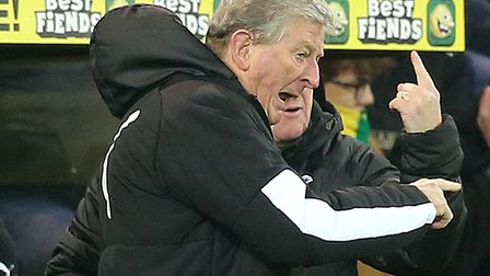 Crystal Palace manager Roy Hodgson was proud of his depleted squad in a comeback 1-1 Premier League