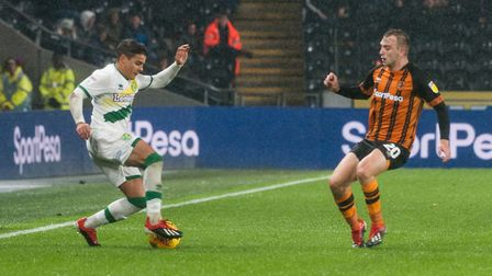 Hull City's Jarrod Bowen has been linked with a move to Norwich City to strengthen the Canaries' fro