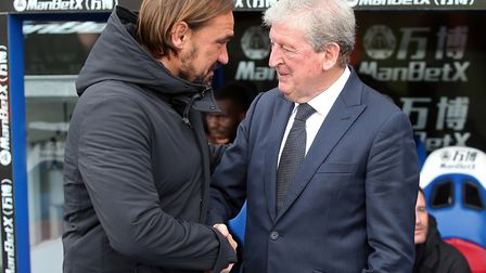 We meet again ... but will Daniel Farke get one over experienced Palace boss Roy Hodgson on New Year