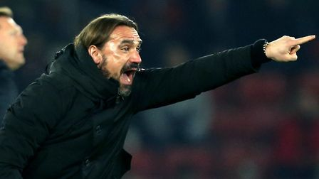 Daniel Farke says the pressure will be on Aston Villa when he takes his Norwich City side to the Mid