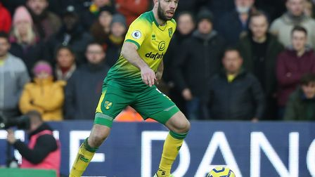 Grant Hanley starts again for Norwich City at Villa Picture: Paul Chesterton/Focus Images