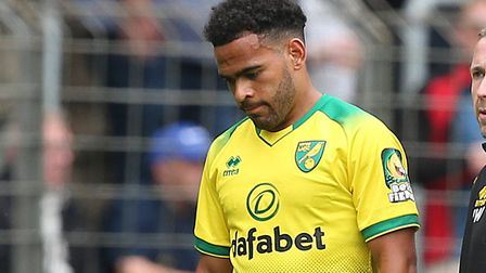 Norwich City midfielder Louis Thompson has linked up with Russell Martin at MK Dons Picture: Paul Ch