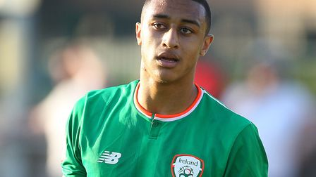 Adam Idah has been a prolific goal-scorer at youth levels for the Republic of Ireland Photo: Paul Ch