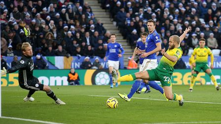 Teemu Pukki remains a doubt for Saturday's encounter against Wolves. Picture: Paul Chesterton/Focus