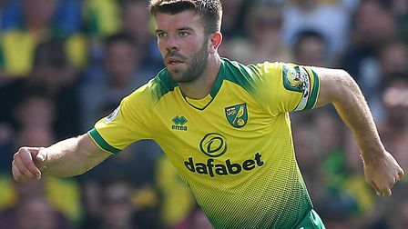 Grant Hanley returns to action for Norwich City this afternoon Picture: Paul Chesterton/Focus Images