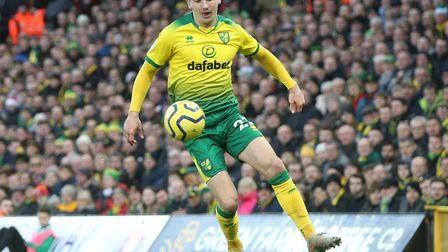 Kenny McLean returns to Norwich City's starting XI against Palace Picture: Paul Chesterton/Focus Ima