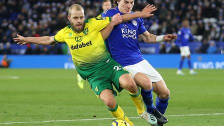 Teemu Pukki will sit out the FA Cup tie with hamstring and toe injuries Picture: Paul Chesterton/Foc