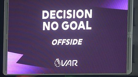 Teemu Pukki put the ball in the back of the net, but it was chalked off by the VAR officials for off