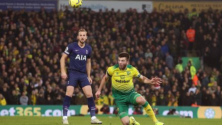 Grant Hanley wins a header during in the second half Picture: Paul Chesterton/Focus Images Ltd
