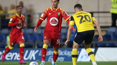 Josh Martin hit a hat-trick in Norwich City Under-18s FA Youth Cup win against Newcastle in the thir