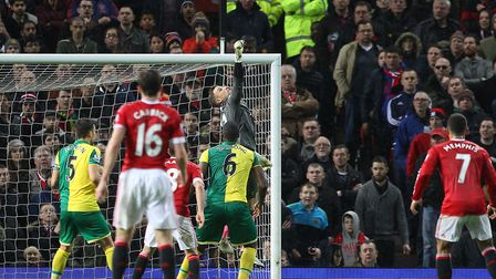 Action from Norwich City's win at Manchester United in December 2015 Picture: Paul Chesterton/Focus