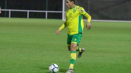 Josh Coley has been recalled from his loan at Dunfermline Athletic Picture: Norwich City