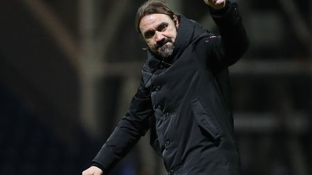 Daniel Farke is relishing the chance for the Canaries to prove they belong at Old Trafford Picture: