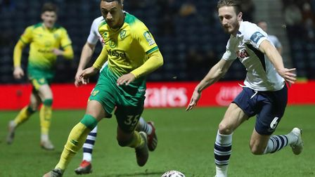 Norwich City striker Adam Idah is in line to make his full Premier League debut at Manchester United