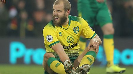 Teemu Pukki is battling to be fit for Bournemouth's visit next week after hamstring and toe issues P
